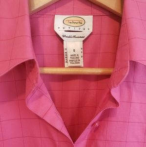 Talbots Tops - Pink Talbots top Soft Comfy Blouse worklife sz 8